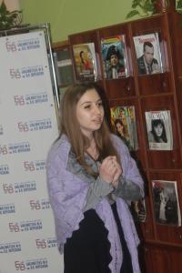 Юлия Маякова читает монолог Грушеньки